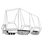 Extra-Large Container Car