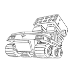 Missile Launcher Buggy