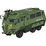Security Enforcement Armored Bus (Versione Gundam: The Origins OAV)