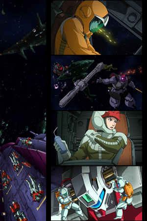 Mobile Suit Gundam Battlefield Record Avant-Title